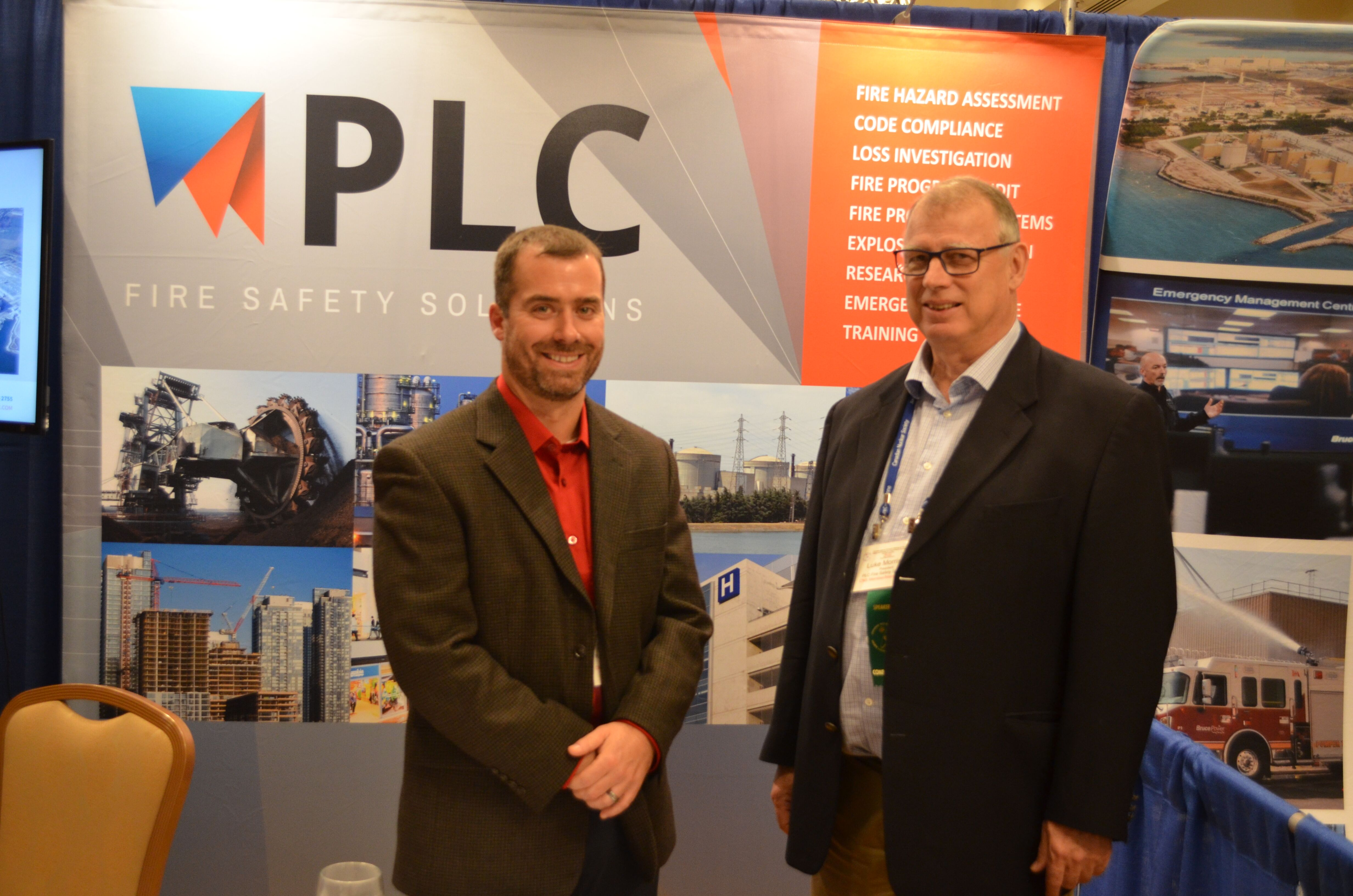 PLC Exhibitor Booth  at FSEP Sept 2017